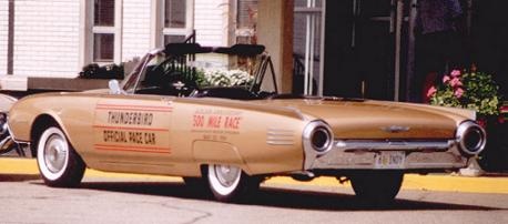1961 Ford Thunderbird Convertible (restored with Official Pace Car graphics)