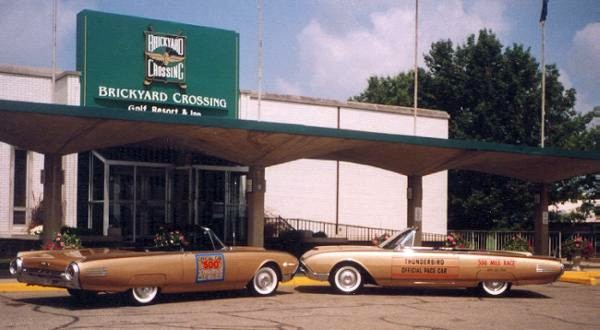 1961 Thunderbird: Official Pace Car of the 1961 Indianapolis 500 Race