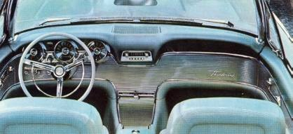 Image: 1961 Ford Thunderbird instrument panel