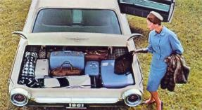 1961 Thunderbird Luggage Compartment