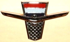 Image: 1962-1963 Ford Thunderbird Sports Roadster front fender emblem
