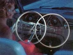 Image: 1962 Ford Thunderbird Swing-Away Steering Wheel