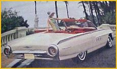1963 Thunderbird Convertible photographed as part of the 1963 Ford Command Performance campaign