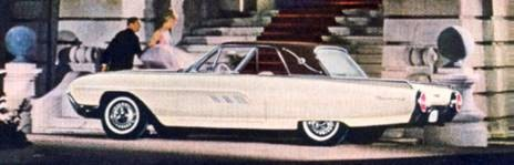 1963 Ford Thunderbird Limited Edition Landau Number 1