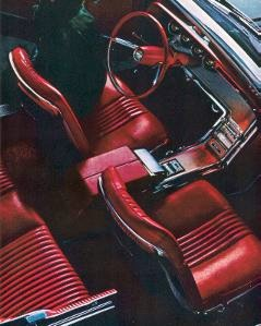 1964 Ford Thunderbird Convertible with Red Leather interior trim