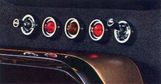 1964 Ford Thunderbird Safety-Convenience Control Panel