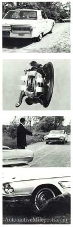 1965 Thunderbird power front disc brake visual series
