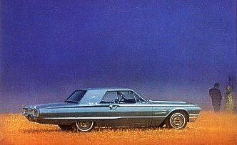 Image: 1965 Thunderbird Hardtop in Brittany Blue Metallic (paint code Q)