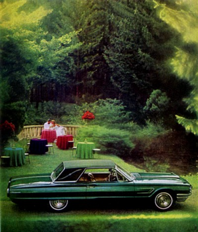 Image: 1965 Ford Thunderbird advertisement