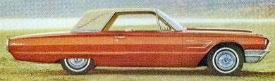 1965 Ford Thunderbird Special Landau in Emberglo