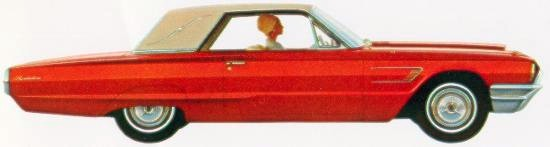 1965 Ford Thunderbird Special Landau in Emerglo with Parchment vinyl roof