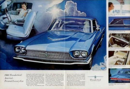 1966 Ford Thunderbird Contents Automotive Mileposts