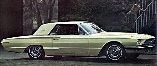 1966 Ford Thunderbird The Four Body Styles Explained