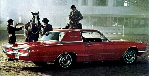 Image: 1966 Ford Thunderbird Town Hardtop