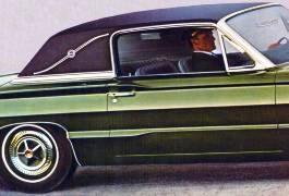 1966 Ford Thunderbird Interior Trim