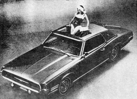 1967 Ford Thunderbird Apollo with Power Sun Roof