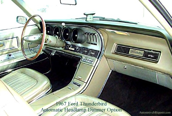 1967 Ford Thunderbird Optional Equipment