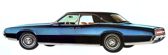 Image 1967 Ford Thunderbird Fordor Landau