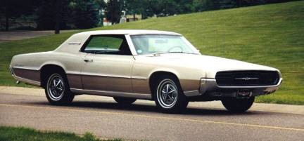 1967 Ford Thunderbird Tudor Hardtop In Beige Mist Metallic