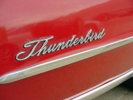 1967 Thunderbird - detail of mid-bodyside moulding