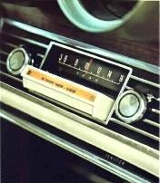 Integral AM Radio with StereoSonic Tape System