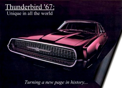 1967 Ford Thunderbird Production Numbers