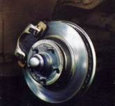 """Floating Caliper"" Power Front Disc Brakes"