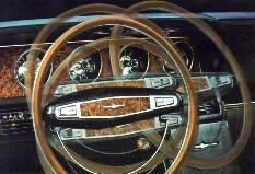 Image: 1968 Ford Thunderbird Tilt-Away Steering Wheel
