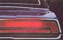 1970 Thunderbird tail lamps