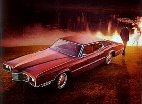 Image: 1970 Ford Thunderbird Two Door Landau - left front view