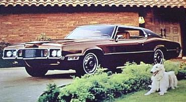 1970 Ford Thunderbird Two Door Landau in Dark Brown Metallic