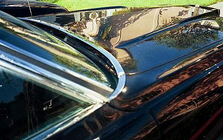 1971 Thunderbird Mark T cowl detail