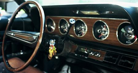 1971 Thunderbird Mark T instrument panel