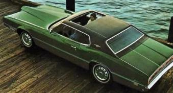 Image: 1971 Ford Thunderbird Two Door Hardtop with optional Vinyl Roof and Power Sunroof