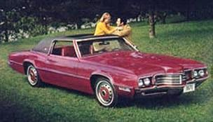 1971 Ford Thunderbird Two Door Landau