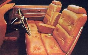 Individually-Adjustable Split Bench Front Seat in optional Ginger Leather