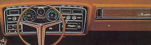 1972 Ford Thunderbird Standard Equipment