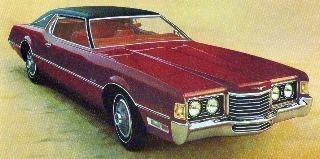 1972 Ford Thunderbird Contents