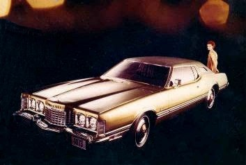 1973 Ford Thunderbird Standard Equipment