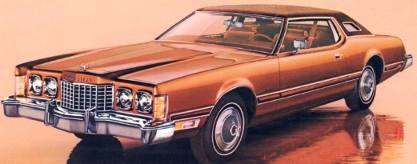 1974 Ford Thunderbird Paint Codes