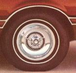 1975 Ford Thunderbird Deep Dish Aluminum Wheels