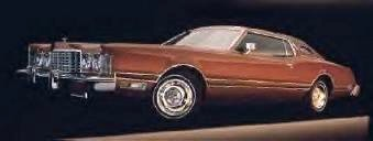 1975 Ford Thunderbird with Copper Luxury Group