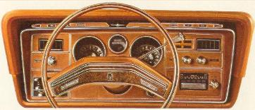 1975 Ford Thunderbird Copper Luxury Group instrument panel