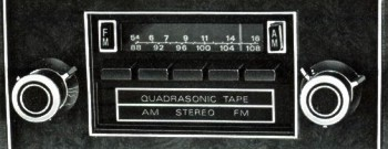 AM/FM Stereo Radio with Quadrasonic Tape Player