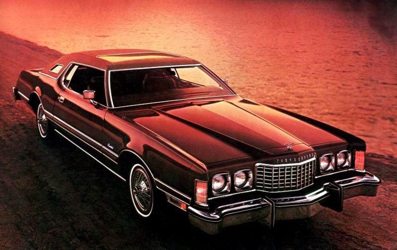 1976 Ford Thunderbird Bordeaux Luxury Group