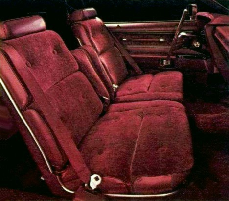 Image: 1976 Ford Thunderbird interior