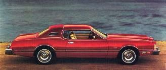1976 Ford Thunderbird with Lipstick Luxury Group option