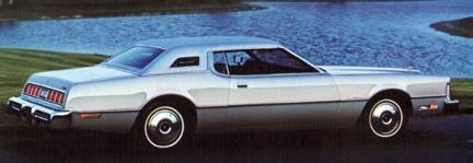 1976 Ford Thunderbird in Silver Starfire