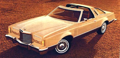 1978 Ford Thunderbird T-Roof Convertible shown in Pastel Beige