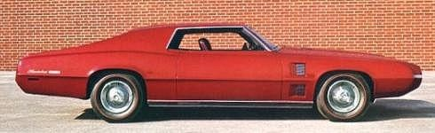 1968 Thunderbird Saturn Show Car